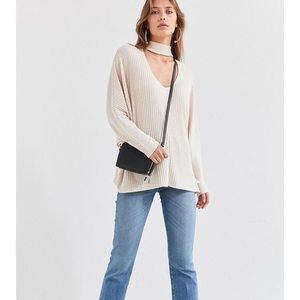 Urban Outfitters Open Mock Neck Sweater